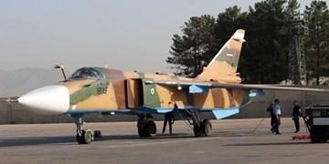 بازآماد یک فروند جنگنده «سوخو ۲۴» در پایگاه شهید دوران