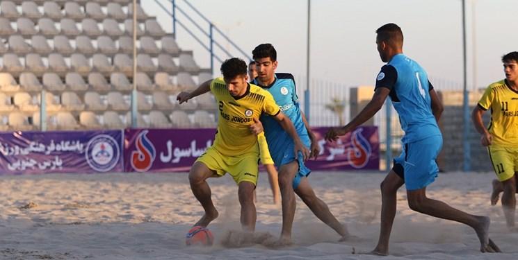 دور برگشت لیگ برتر فوتبال ساحلی کشور/ برد خفیف پارس جنوبی در خانه