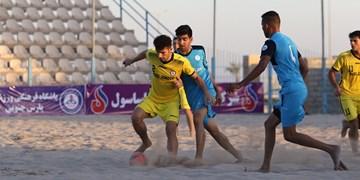 برنامه دور رفت مرحله نیمه نهایی لیگ برتر فوتبال ساحلی اعلام شد