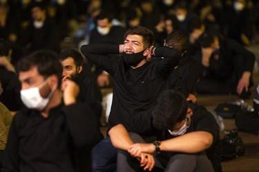 مراسم سوگواری شب سوم محرم هیئت میثاق با شهدا در دانشگاه افسری امام علی(ع)