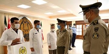 امیر سرلشکر موسوی از دانشگاه فرماندهی و ستاد ارتش بازدید کرد