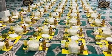رزمایش همدلی و توزیع 12 هزار بسته غذایی در زنجان