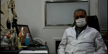 فیلم| اهدای 90 هزار دست لباس پزشکی برای کادر درمانی