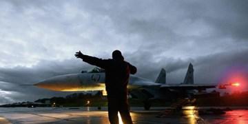 سوخو-27 روسیه 2 هواپیمای ناتو  را بر فراز دریای بالتیک رهگیری کرد