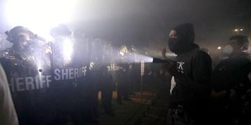فیلم | استقرار گارد ملی آمریکا برای سرکوب معترضان «ویسکانسین»