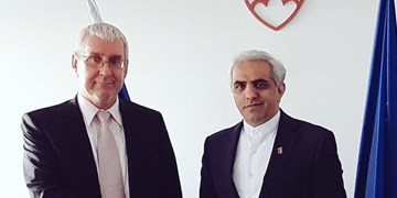 دیدار سفیر آکردیته ایران با معاون اول وزیر اقتصاد اسلواکی