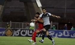 نیمه نهایی جام حذفی  تساوی تراکتور و نفت مسجدسلیمان در نیمه اول