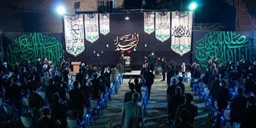 عزاداری شب ششم محرم در هیات مسجد جنرال در ارومیه