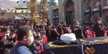 پیکر حجتالاسلام حسینیان تشییع و تدفین شد