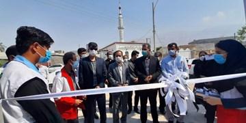 افتتاح خانه هلال روستایی در شهرستان کنگان
