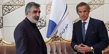 گروسی تهران را به مقصد وین ترک کرد
