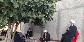 مجالس حسینی در محرم متفاوت 99/ قرار محبان اباعبدالله الحسین (ع) در کوچههای دهدشت + فیلم