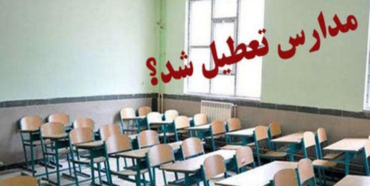 مدارس زنجان یک هفته دیگر تعطیل شد