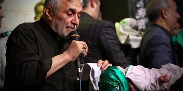 روضه حضرت علیاصغر (ع) توسط منصور ارضی+فیلم