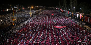 شب حضرت علی اصغر(ع) در هیئت ریحانهالحسین