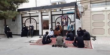 برگزاری عزاداری دهه آخر صفر درب منازل شهدا در کرمانشاه