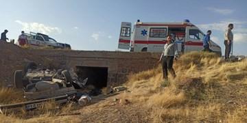 ۴ کشته و زخمی در تصادف پژو ۴۰۵ و نیسان در محور یاسوج_شیراز