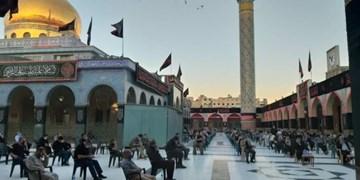 تصاویری از سوگواری در حرم حضرت زینب(س)