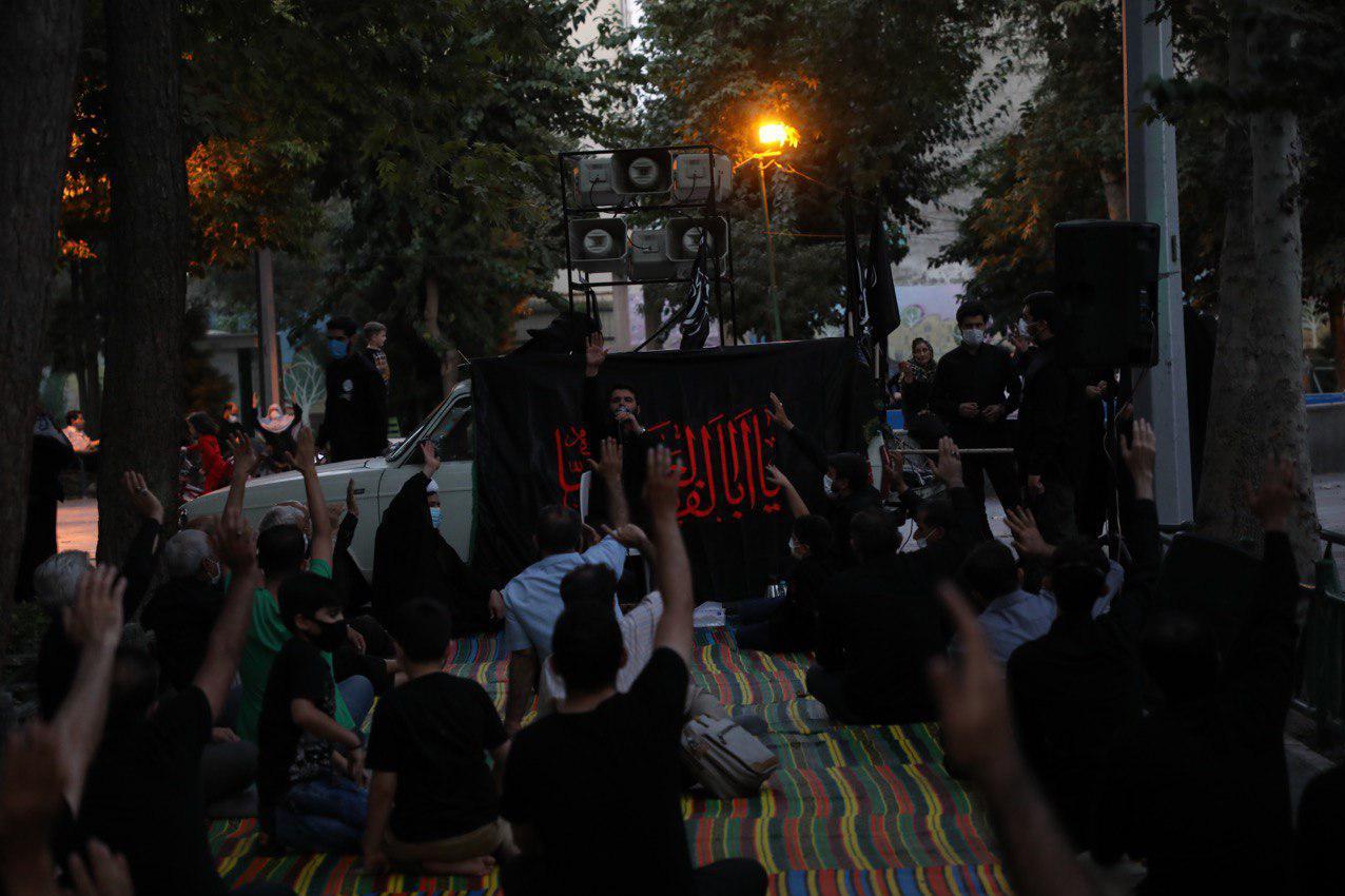13990607000486 Test NewPhotoFree - روضهخوانی مطیعی در کوچههای تهران +تصاویر