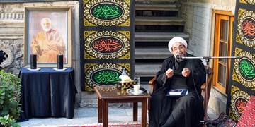 آیین عزاداری در خانه تاریخی ملک + تصاویر