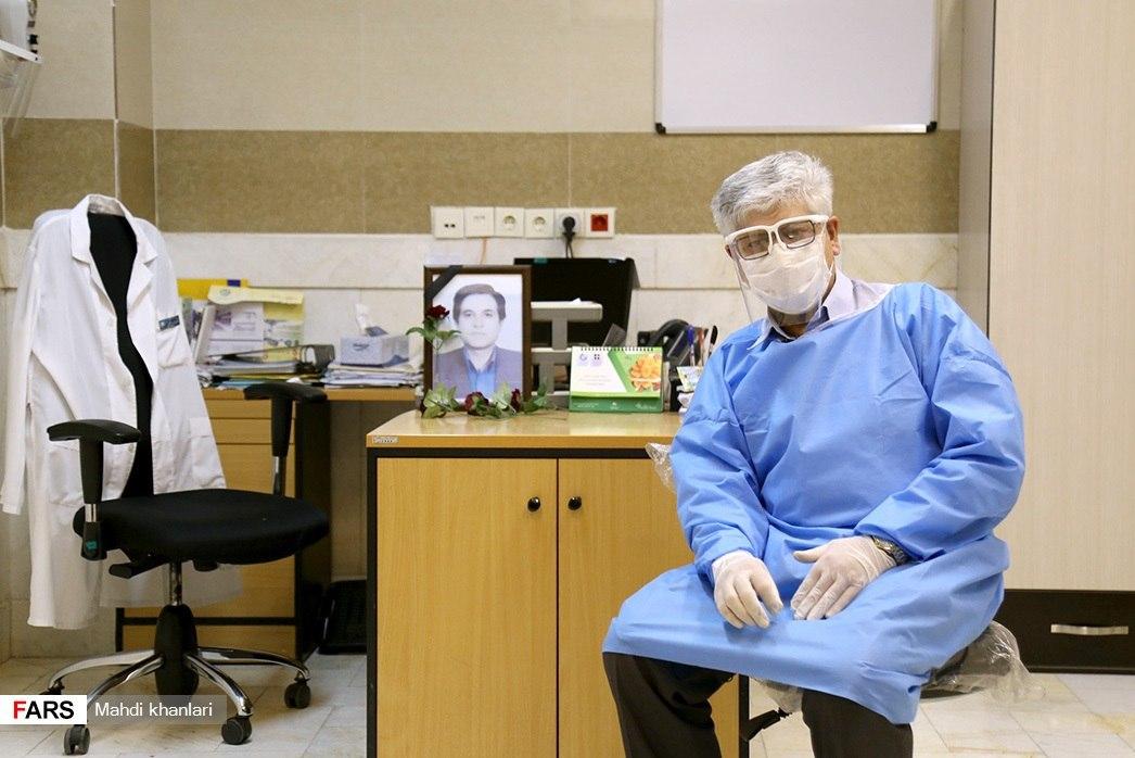 13990608000570 Test NewPhotoFree - روایت روزهای کرونایی خادم سفیدپوش حرم/ از طبابت رایگان بیماران در ایام محرم تا شهادت