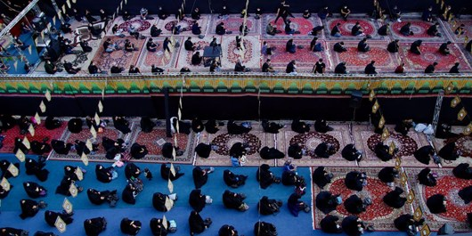 فیلم| یک دهه عزاداری در روزهای کرونایی دماوند/ مسؤولان: پروتکلها رعایت شد