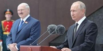 پوتین: موضع غرب در قبال انتخابات بلاروس از قبل مشخص شده بود