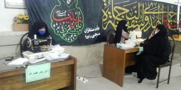 جهاد بانوان طلبه شاهرود؛ از نذر دوخت ماسک تا بستههای معیشتی+ تصاویر
