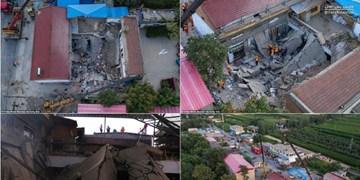 فرو ریختن سقف رستوران در «شانشی» چین ۲۹ کشته بر جا گذاشت