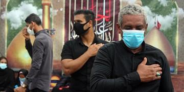 عکس  عاشورای حسینی در قشم