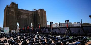 نماز ظهر عاشورا  به یاد آخرین نماز سالار شهیدان