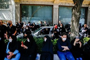 عزاداری روز عاشورا در خیابان های تبریز