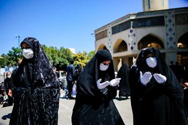 هیئت رزمندگان اسلام تبریز-عزاداری روز عاشورا در خیابان های تبریز