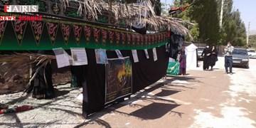 برپایی نمایشگاه محرم توسط پایگاه امابیها حضرت زینب (س) دنا+فیلم و تصویر