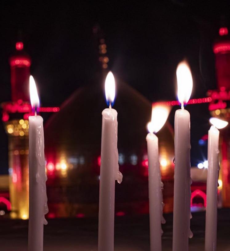 13990610000036 Test NewPhotoFree - عزاداران در کربلا با شمعهای روشن، شام غریبان را گذراندند+عکس