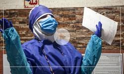 عزاداری پرستاران بیمارستان شهدای گمنام بر بالین بیماران