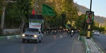 برپایی کاروان خودرویی و موتوری عزاداران حسینی در شاهرود+ تصاویر