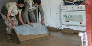 گروههای جهادی به کمک روستاهای سیلزده بیرجند رفتند/ از لزوم بازگشایی جاده روستایی تا نیاز مبرم به آب