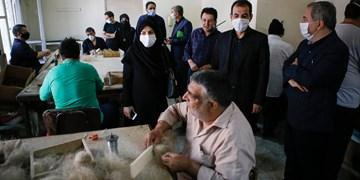 نتیجه بازخورد گزارش فارسٰ، سوسوی چراغ امید در کارگاه روشندلان/ مشکل بیمه کارگران روشندل حل میشود
