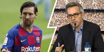 نامزد ریاست بارسلونا: با مسی توافق کنید تا رابطهاش با باشگاه قطع نشود