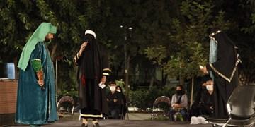 تعزیه حضرت امیر(ع) در پهنه رودکی+ فیلم