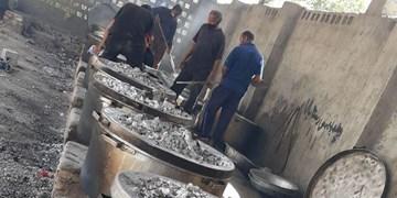 توزیع 3500 بسته غذای گرم در بندرزرک میناب