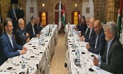 اسماعیل هنیه و زیاد النخاله در بیروت دیدار کردند