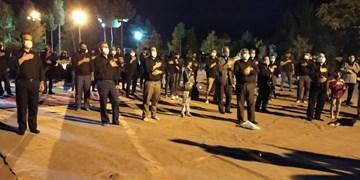 عزاداری حسینی در لشکر ۵۸ تکاور ذوالفقار+ تصاویر
