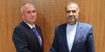 دیدار و گفتوگوی سفیر ایران با معاون  وزیر صنعت و تجارت روسیه