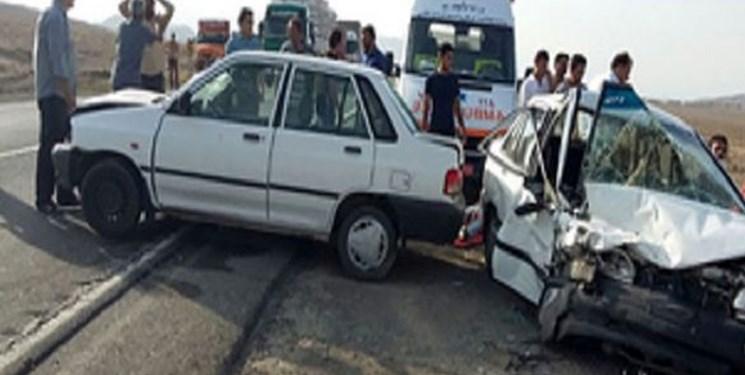 تصادف دو خودرو پراید در محور مشگین شهر/ 8نفر مصدوم شدند