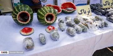 پلیس کرمانشاه ۹۰ کیلوگرم تریاک کشف کرد
