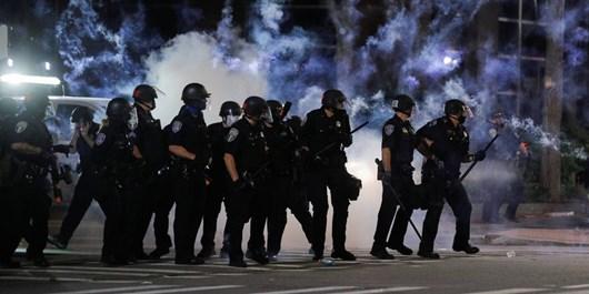 پلیس مینیاپولیس 600 معترض انتخاباتی را بازداشت کرد