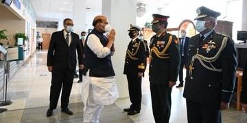وزیر دفاع هند از مسکو عازم تهران شد