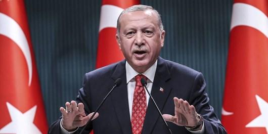 اردوغان: کسی از حضور ترکیه در خلیج [فارس] ناراحت نشود